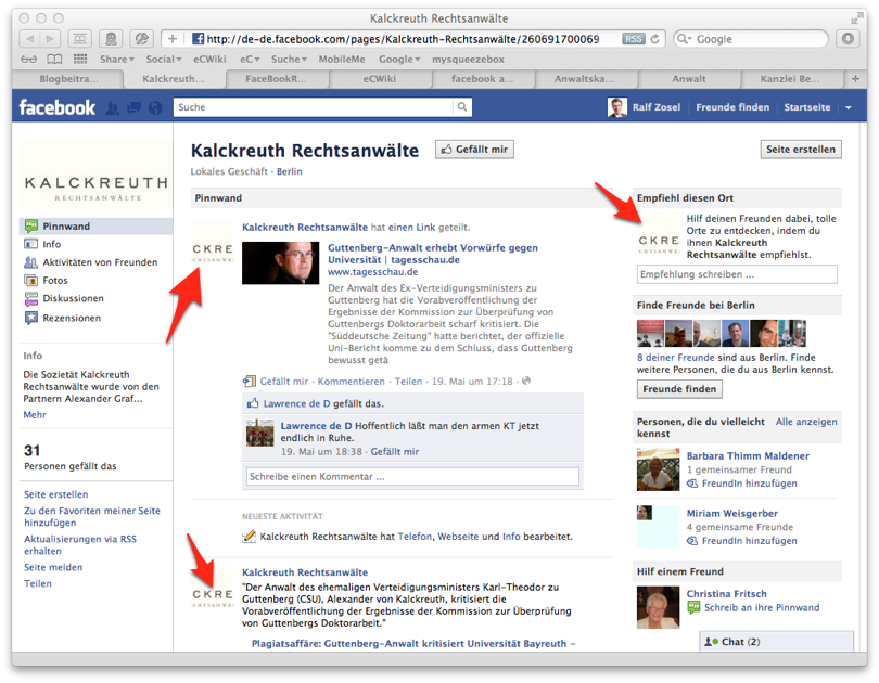 Facebook Profilbild im richtigen Format | ralfzosel.de