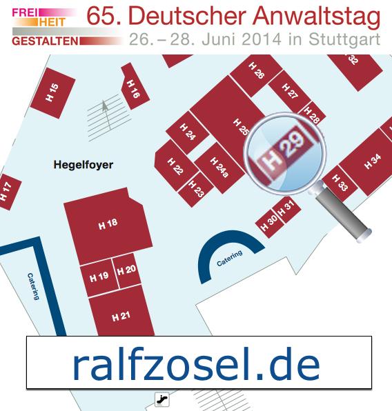Lageplan Stand H29 - ralfzosel.de