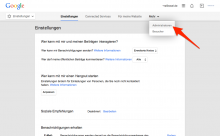 Google My Business freigeben - Screenshot 2
