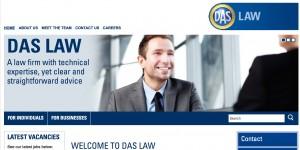 Screenshot DAS Law