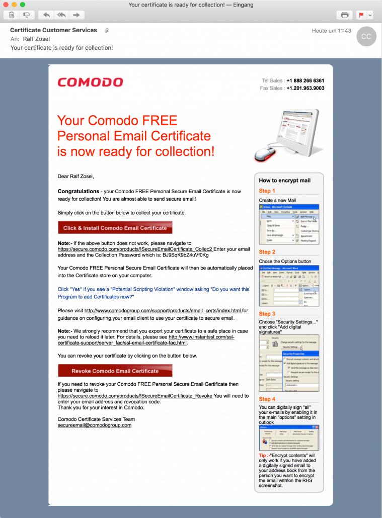 E-Mails verschlüsseln: Mit S/MIME ganz einfach | ralfzosel.de