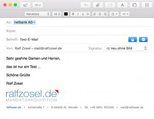 E-Mail schreiben mit S/MIME - signiert und verschlüsselt