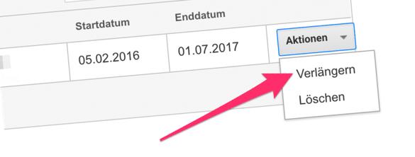 Kanzleihomepage-Besucherzahlen E-Mail verlängern (Header)