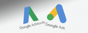 Altes AdWords- und neues Ads-Logo